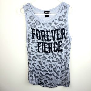 Wet Seal | Forever Fierce Graphic Tank